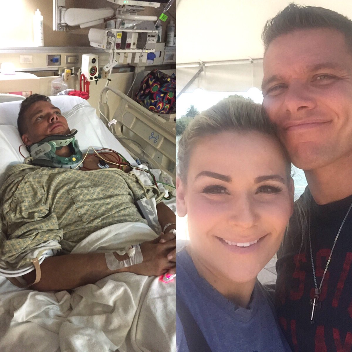 """One year ago today, I had c1-c2 spinal fusion. I'm grateful for a """"second chance at life."""" https://t.co/jPzr45T3QF"""