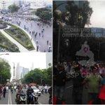 #Ahora CNTE marcha del Ángel de la Independencia rumbo al Zócalo https://t.co/CS9syjSRc9 https://t.co/gXEBgpxYHe
