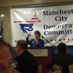 MN Senator Klobuchar at Manchester City Democrats Flag Day Dinner. #nhpolitics https://t.co/VBLhJVsQxm