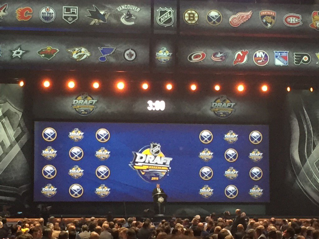 Terry Pegula welcomes everyone to #Buffalo for the Draft. https://t.co/VKNKEaAafm
