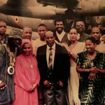 PublicEnemy in Ghana 1992- That fighter Jet was flown manually there by then President JerryRawlings for our meeting https://t.co/cwIn8mR2Ax