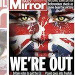 #FOTOS Primeras planas de los periódicos británicos tras el Brexit https://t.co/PBF3a05trx https://t.co/hNTJD5GEmw