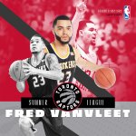 S/O to @FredVanVleet who will be playing with the Toronto @Raptors during NBA Summer League! #WeTheNorth #watchus https://t.co/TTnaLPqv00