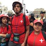 #Ahora La vanguardia de la marcha magisterial es bloqueada por la policía de la CDMX en su rumbo al Zócalo #CNTE https://t.co/EbemPGNk6Q