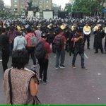 Nuevamente la estupidez de @ManceraMiguelMX ,detiene marcha x #BellasArtes e impiden llegar al #Zócalo #CDMX https://t.co/x2ITdYTJYC