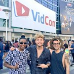 Having a blast at @VidCon! If you see us, come say hi ???????????? https://t.co/WSHXYLxWzQ