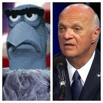 Weird how Lou Lamoriella looks like the Blue Hawk from the muppets... #NHLDraft2016 #NHLDraft @timandsid https://t.co/cw9enj0iFO