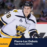 Pierre-Luc With the third pick in the 2016 #NHLDraft, the @BlueJacketsNHL select Pierre-Luc Dubois. https://t.co/lY6B7bSdqa