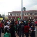 No pensé ver esto en mi pueblo; Atlacomulco, la tierra de @epn Maestros marchando apoyando y gritando !fuera Peña! https://t.co/CmBhUXT1Bj