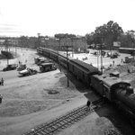 El ferrocarril en el cruce de las avenidas guadalupe, misterios y canal del norte 1930 #CDMX https://t.co/MJ5FRrDmBs