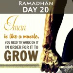 Ramadhan Day 20 Reminder InshaAllah I will post a reminder everyday courtesy of @HuzFuz. Please follow me for more. https://t.co/6w6LFdTJ2p