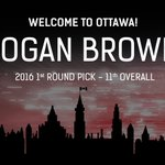 With the 11th pick in the 2016 #NHLDraft the #Sens select Logan Brown. https://t.co/AVigJ2jqLz