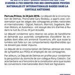 @garybodeau: Je condamne avc véhémence les attaques armées contre le #secteur privé haïtien.#Garybodeaudéputé2delmas https://t.co/CHEN2hRS64