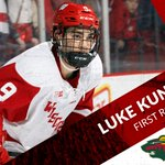 """""""The Minnesota Wild are proud to select, Luke Kunin from the University of Wisconsin."""" Congrats, Luke! #OnWisconsin https://t.co/hROaup7DZH"""