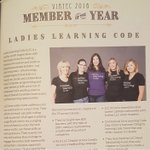 Congrats to our @llcvictoria Chapter for being recognized as @VIATECs Member of the Year! ???? https://t.co/kCesgpxBgI