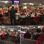 I thought the restaurant would be full, the 100s in the stands show #redvolution excitement. #CanesDraft https://t.co/xIyuvvbxNT