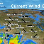 Winds have also picked up pretty strong to 61 km/h right now in Saskatoon. https://t.co/hve0QW2AWM #yxe https://t.co/59xGST1dVr