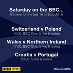 Those two rest days seemed like a lifetime! Its finally #EURO2016 last-16 day Coming up.. https://t.co/Z2NV3UZ9QV https://t.co/ueonbGXsEN