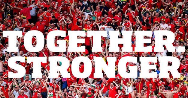 Good luck to @FAWales who face @NorthernIreland in the Round of 16! #TogetherStronger #EURO2016 #WALNIR https://t.co/CLkdLY6wbC