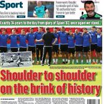 Belfast Telegraph back page Saturday June 25, 2016 #NINews #euro2016 #gawa #nir https://t.co/ztD8tb3b8x