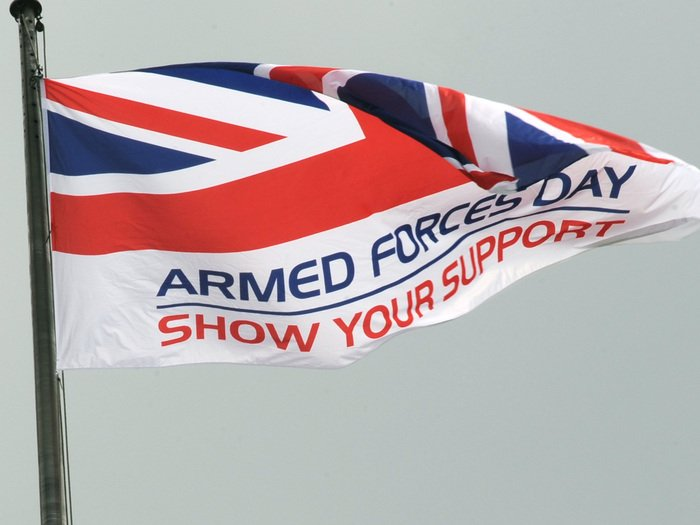Happy #ArmedForcesDay! Today we #SaluteOurForces for their hard work and dedication. More at https://t.co/vGlVpQI0w9 https://t.co/0tVCKblwIt