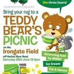 A great day for a picnic! ???? Irongate field next to @HarrogateSpring at noon. @StrayFM @Harrogate_News @NewsdeskHG https://t.co/doKzldJnNB