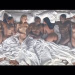 "Vincent Desiderios ""Sleep"" painting was obviously inspiration for Yes ""Famous"" video #TIDALXFAMOUS https://t.co/hcFq4nEwUJ"