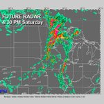 ⚠️ FUTURE RADAR: Strong / severe storms likely Saturday between noon & 8:00 PM in southern Minnesota. #MNwx #Mankato https://t.co/cF2sWkaKWs