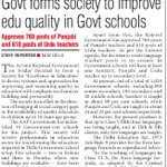 Kejriwal Govt forms society to improve education quality in Govt schools https://t.co/3csZ5UMnZn