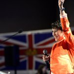 Always dynamic @melaniejmark salutes the energy, passionate & values at well-attended #BCNDPForward #bcpoli https://t.co/o8S8FD0jOp