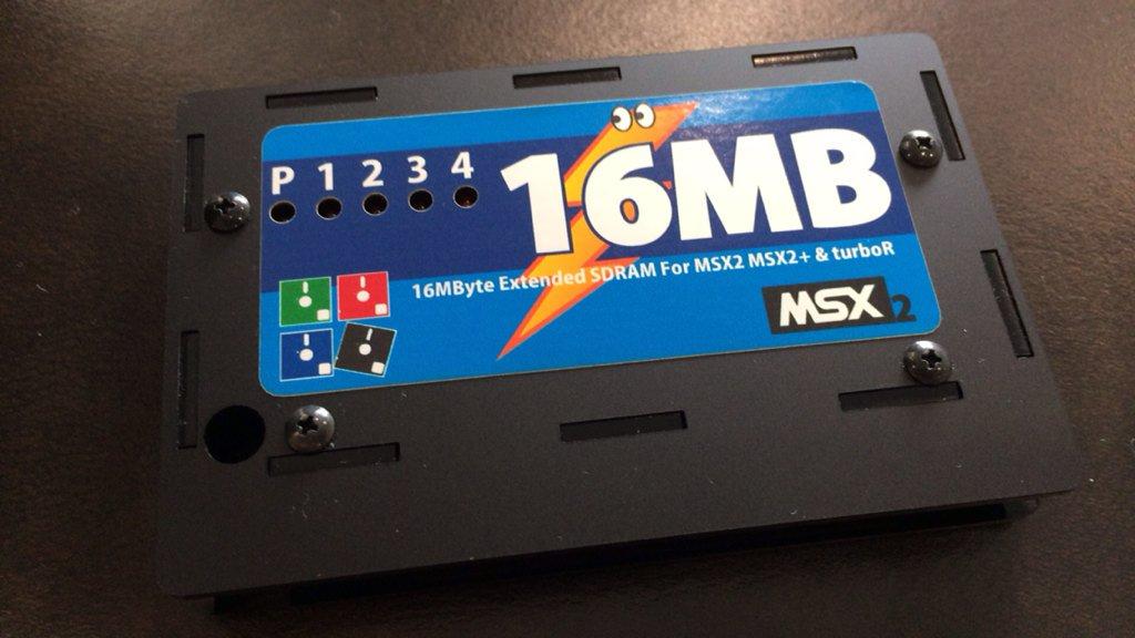 MSX用16MBのSDRAMカートリッジがあったので購入!これでヤマハCX-7でDOS2カーネルが走らせられる! https://t.co/yyCcLmSAsj