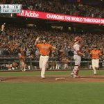 #Belted... bases clearing double #SFGiants https://t.co/aHPKx9chsA