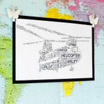 Helicopter Personalised word art https://t.co/NqYpBcMzzg #NOTHS #QueenOf #KPRS #BizAds https://t.co/H6mNkInf3z