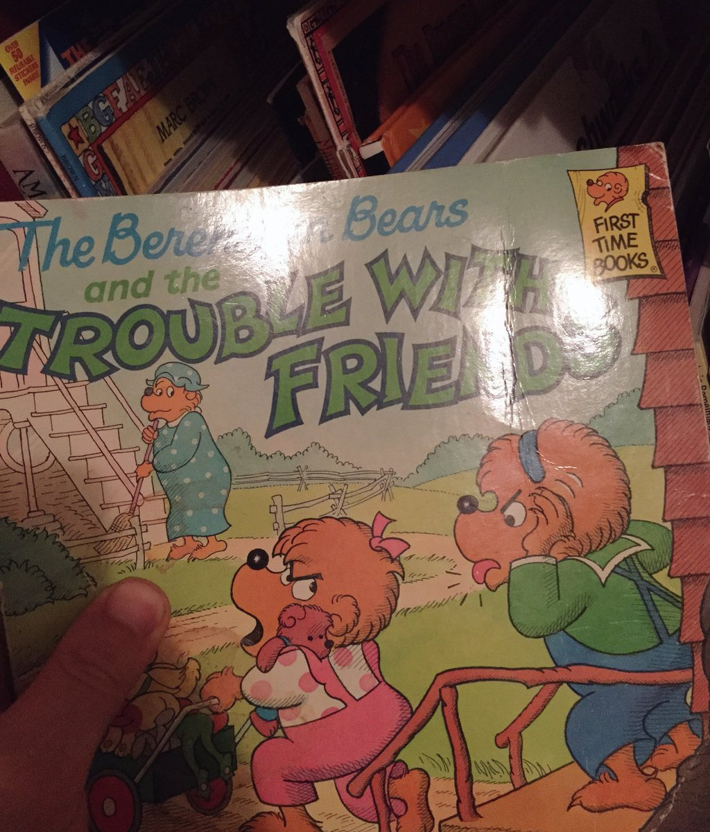 Alright. I tracked down a FIRST EDITION so we can finally put this Berenstein/Berenstain debate to REST. PROOF: https://t.co/DffMpEuX34