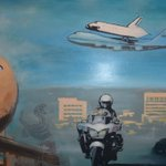 Mural celebrating the City of Inglewood + the men + women of Inglewood Police Department-Thanks 2 Artist Ryan Graeff https://t.co/0RwDdsqCzm