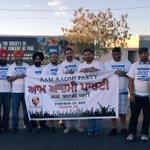 New @AAPOverseas chapter in making, team Phoenix getting ready to #KickNasha with @DrKumarVishwas & @AamAadmiParty https://t.co/F0RWR888Or