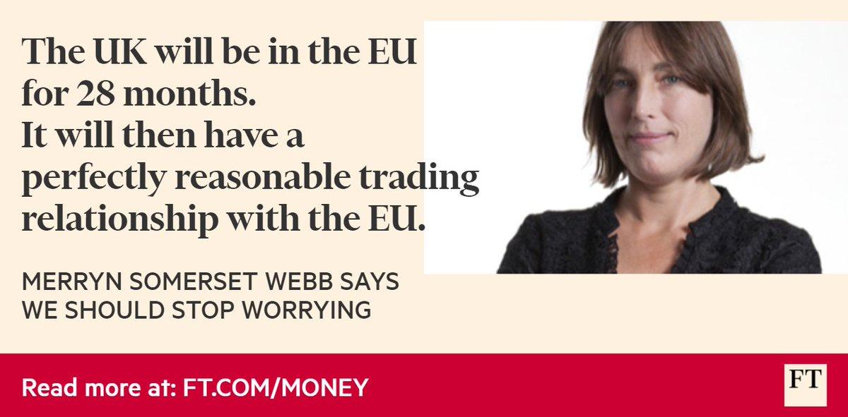 @MerrynSW says #Brexit will not be disastrous: https://t.co/O4xnQNsjEr https://t.co/RYPtMDJK6G