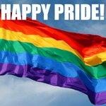Good morning, and Happy Pride! @DublinPride #Pride #LGBT #gay #lesbian #bi #trans #GCNpride https://t.co/ipWi52p6Hy
