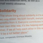 Solidarity Companion perspective, a value close to all at #emmaus #hull #homelessness https://t.co/jiqHflN4F2