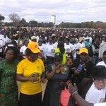 We are live from Freedom Square Joice Mujuru Harare Star Rally #Mujuru @KalabashMedia @Wamagaisa @PastorEvanLive https://t.co/E5vjw4VQF8