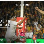 ▪ FULL TIME IN SYDNEY ▪ 3 - 0 ▪ HISTORY MADE #carrythemhome 🌹🌹🌹🌹🌹 https://t.co/ib5wNzg0cs