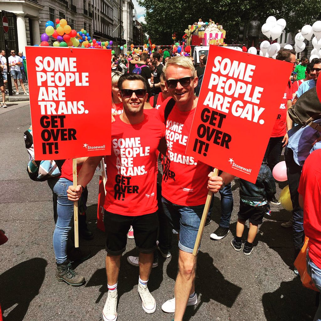 With @stesoftley at London LGBT pride. The struggle is real! #weareorlando #lovewins #lgbtpride https://t.co/GCELl3muus