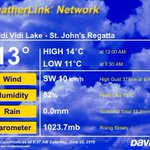 Current #nlwx conditions at the pond can be found at https://t.co/2JHSRC4N8Z #DiscoDay #RSJR2016 https://t.co/1a7Bo47CMM