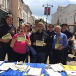 Some of the #Cheltenham #LibDems out today. Signing up new members #WeAreThe48 https://t.co/s2gQ2DxM9j
