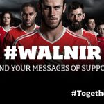 Matchday is finally here!! Show your support for the boys using #TogetherStronger  #WALNIR  #WAL  #EURO2016 https://t.co/DVfaUEAV4F