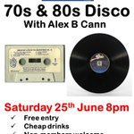 Tonight! Come and thrash around to the sounds of the 70s & 80s with @alexbcann - free entry! #Harrogate https://t.co/kLU8FQa813