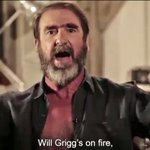 "VIDEO: Eric Cantona sings the ""Will Griggs On Fire!"" chant! What a guy!..https://t.co/sbNhQSC6rN https://t.co/aJAJcHDPHX"