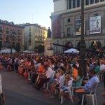 Cierre de campaña Unidos Podemos vs Ciudadanos. Reflexionando...???? #JornadaDeReflexion https://t.co/YqBhH5tkzt