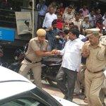 Modi & Najeeb Jung Murdered Democracy .@DineshMohaniya is elected MLA & arresting like this shows #EmergencyInDelhi https://t.co/IQLZ6s5qVf