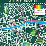 Heres the route for todays #Pride2016 parade in Dublin. We hope you all have a brilliant time. ???? ???? ???? ???? ???? https://t.co/UygXUVRWgl